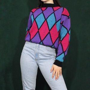 Vintage #1980s Adele knitwear pullover